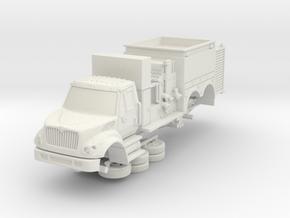 1/87 LA County Foam 10 in White Natural Versatile Plastic