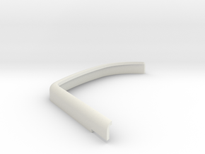 DeAgostini Hummer H1 Front wing mudguard front lef in White Strong & Flexible