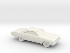 1/87 1968-70 Plymouth GTX in White Natural Versatile Plastic
