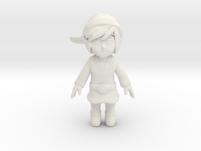 The WindWaker Link in White Strong & Flexible: Small