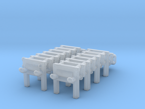 1/306 Scale DC Racks in Smoothest Fine Detail Plastic