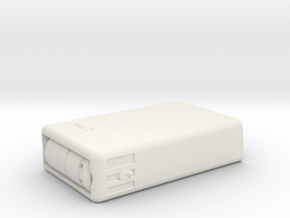 Medical Tricorder, Closed (ST TNG), 1/6 in White Natural Versatile Plastic