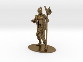 Kender Miniature in Natural Bronze: 1:60.96