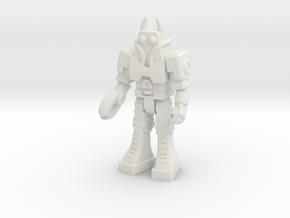 Waruder, Battas Type, at attention 35mm Mini in White Natural Versatile Plastic