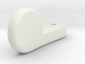 Landing Gear Indicator Switch in White Natural Versatile Plastic