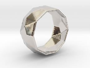 Octagonal Ring in Platinum: 8 / 56.75