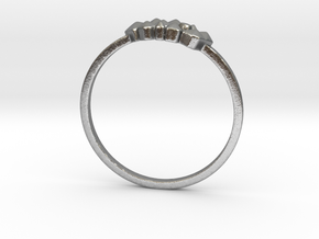 Crystallized Ring (all size 4-13) in Raw Silver: 7 / 54