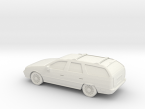 1-87 1990 Ford Taurus Wagon  in White Natural Versatile Plastic