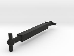 H0 - OLD RIVAROSSI HEISLER 3 TRUCK DRIVE SHAFT (CA in Black Natural Versatile Plastic