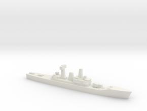 Leander-class frigate, 1/3000 in White Natural Versatile Plastic