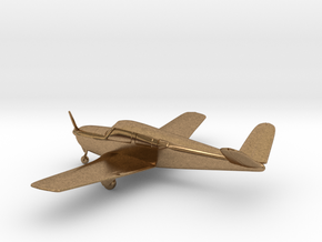 Beechcraft Bonanza 35 in Natural Brass: 1:108