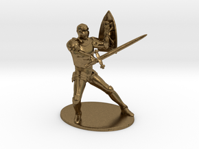 Paladin Miniature in Natural Bronze: 1:60.96
