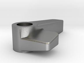 Knob-v09 Single Countersink in Natural Silver