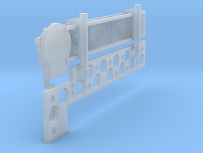 1:96 scale Walkway - Starboard - Short in Frosted Ultra Detail