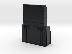 P32 AC-DM Chassis Add-On N Scale in Black Hi-Def Acrylate