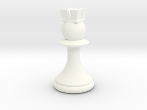 Pawns with Hats - Rook in White Strong & Flexible Polished