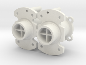 Spare Nozzles in White Strong & Flexible