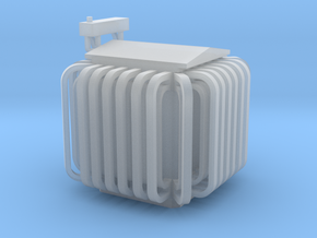 Substation Transformer in Smooth Fine Detail Plastic