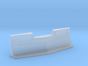 Plow for Bombardier Cars - Add-On N Scale in Smooth Fine Detail Plastic