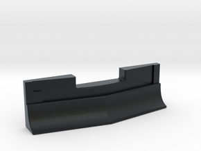 Plow for Bombardier Cars - Add-On N Scale in Black Hi-Def Acrylate