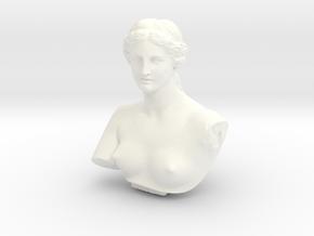 Venus de Milo in White Processed Versatile Plastic: Medium