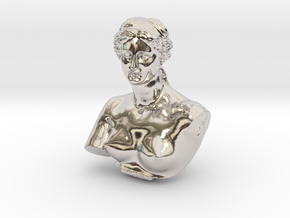 Venus de Milo in Rhodium Plated Brass: Medium