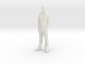 Printle C Homme 004 - 1/64 - wob in White Strong & Flexible