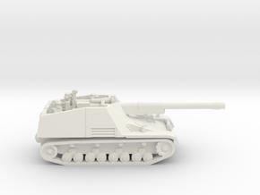 Jagdpanzer - Nashorn in White Strong & Flexible