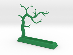 Jewelry Tree in Green Strong & Flexible Polished