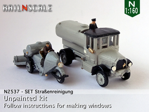 SET Straßenreinigung (N 1:160) in Smooth Fine Detail Plastic