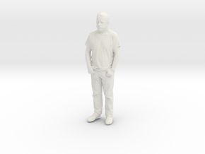 Printle C Homme 085 - 1/64 - wob in White Strong & Flexible