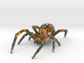 Spider in Glossy Full Color Sandstone: Medium