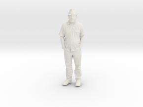 Printle C Homme 132 - 1/64 - wob in White Natural Versatile Plastic