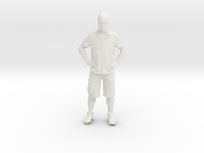 Printle C Homme 134 - 1/64 - wob in White Natural Versatile Plastic