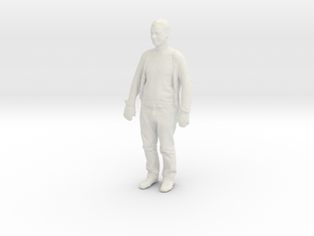 Printle C Homme 166 - 1/64 - wob in White Natural Versatile Plastic
