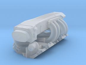 1/32 SBC TPI Intake System in Smoothest Fine Detail Plastic