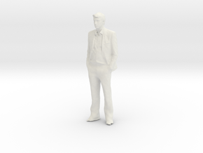 Printle C Homme 187 - 1/64 - wob in White Natural Versatile Plastic