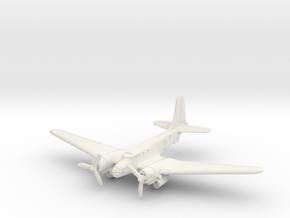 Douglas B-23 Dragon (Landing Gear) 1/144 in White Natural Versatile Plastic