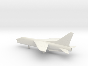 Vought F-8 Crusader in White Natural Versatile Plastic: 1:72