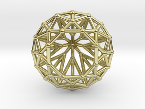Diamond - Brilliant crystal geometry in 18k Gold