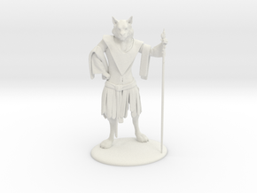 Aslan (Traveller race) Miniature in White Natural Versatile Plastic: 1:60.96