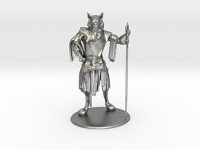 Aslan (Traveller race) Miniature in Natural Silver: 1:60.96