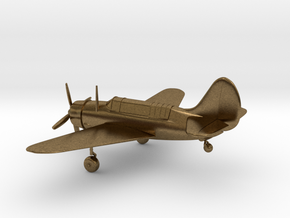 Curtiss SB2C Helldiver airplane in Natural Bronze: 1:144