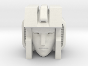 G1 Slipstream head for CW Fireflight in White Natural Versatile Plastic