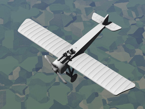 Pfalz E.IV in White Natural Versatile Plastic: 1:144