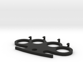 Knuckle-Duster - Hanger in Black Strong & Flexible