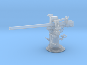 1/200 USN 3 inch 50 [7.62 Cm] Deck Gun in Smooth Fine Detail Plastic