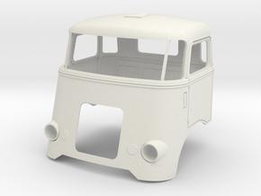 6-SP-cab-1to13 in White Natural Versatile Plastic