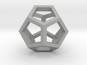 geommatrix dodecahedron in Aluminum