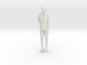Printle C Femme 005 - 1/43 - wob in White Natural Versatile Plastic